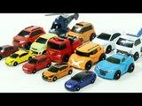 HelloCarbot Tobot Mini 14 Car Toys Transformation 헬로카봇 또봇 어드벤처 미니사이즈 장난감 14대 자동차 로봇 변신 동영상