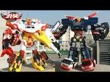 헬로카봇2 장난감 4단합체 마이티가드 긴급출동 5단합체 펜타스톰 야외스톱모션 변신자동차 합체로봇 동영상 에니메이션 HelloCarbot2 Transformers