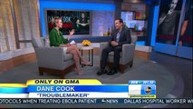 Amy Robach - green top white skirt & tan heels - October 17, 2014