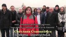 LES CHRETIENS ORTHODOXES DE SAINT-PETERSBOURG S'ADRESSENT AUX CITOYENS UKRAINIENS, 29 mars 2015