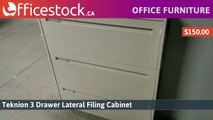 3 Drawer Metal Lateral File Cabinets