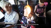 [Eng Sub] BTS Funny Moment Inside The Bus (Tae-tae Cam)