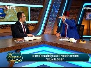 Üstad Kadir Mısıroğlu İle Ramazan Sohbetleri 25 Haziran 2016
