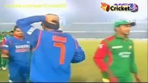 Funny Moments in Cricket  MS Dhoni imitating Virat Kohli, Tiwary and Irfan Pathan