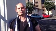 Portrait de supporter des Girondins de Bordeaux : Sébastien