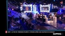 ONPC : Après une coupure de courant, Laurent Ruquier filme la fin de l'émission avec son iPhone (Vidéo)