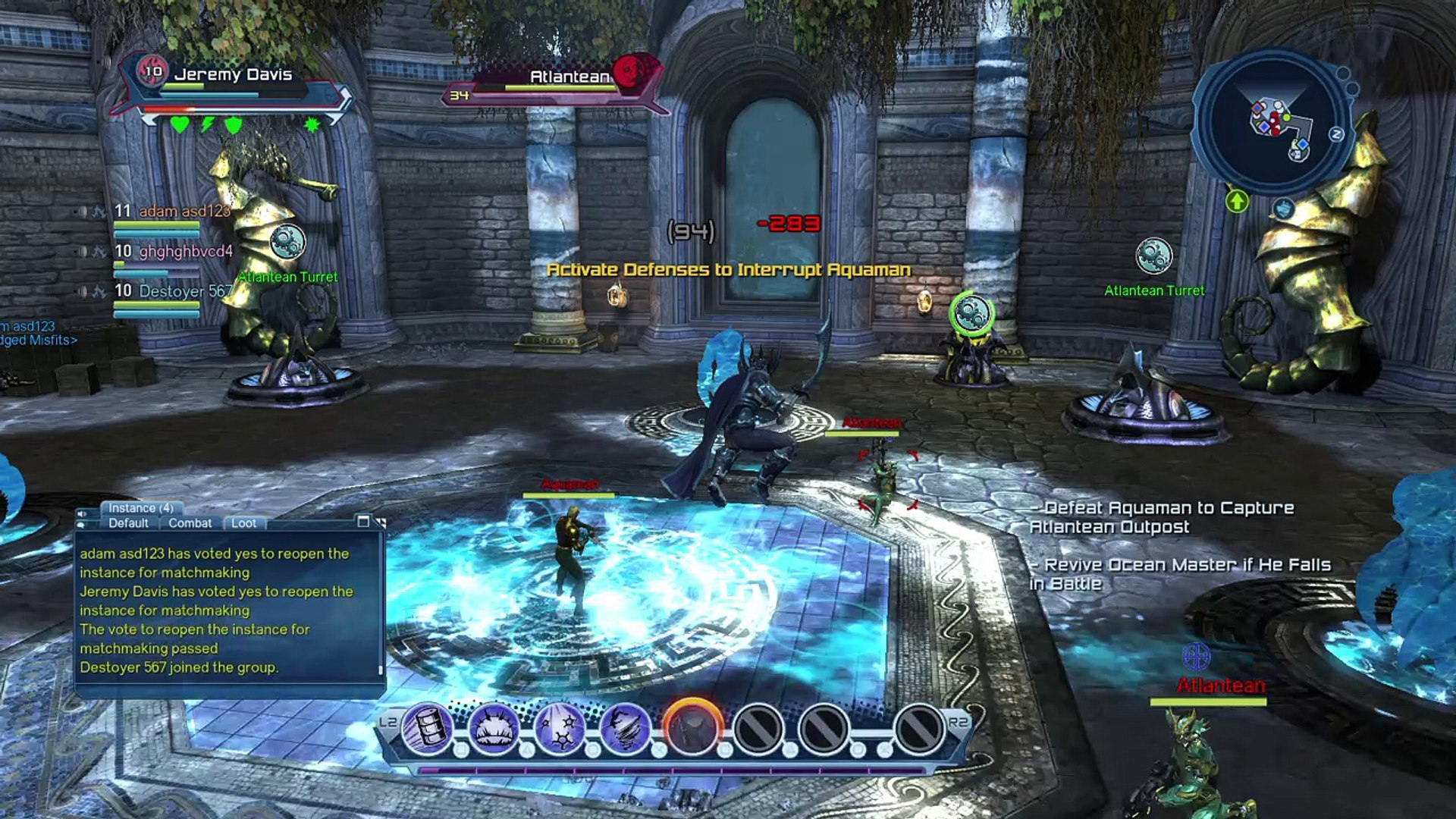 Matchmaking DCUO