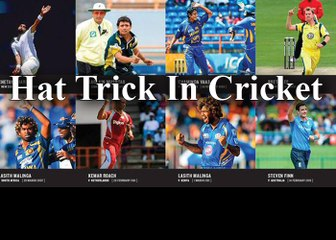 The Cricket Top 7  Hat-Tricks In Cricket History By Cricket World
