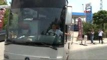 Polisi Bu Otobüs Alarma Geçirdi -3
