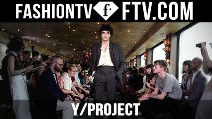 Paris Men Fashion Week Spring/Summer 2017 - Y/ Project   FTV.com