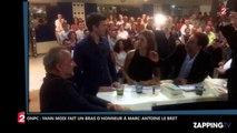 ONPC – Yann Moix moqué par Marc-Antoine Le Bret, il lui fait un bras d'honneur (Vidéo)