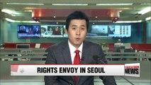 U.S. Special Envoy for N. Korean human rights visits Seoul