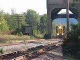 CSXT Freight Train,Lebanon Junction,KY 10/10/07