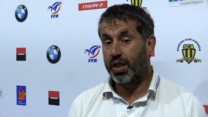 """Frédéric Pomarel: """"Aujourd'hui toutes les équipes proposent un VII cohérent"""""""