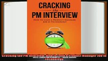 book online   Cracking the PM Interview How to Land a Product Manager Job in Technology