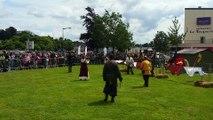 Tournoi de chevaliers à la fête de la Vire de Saint-Lô