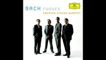 J.S.Bach: Fugue No.1 BWV 846 from Well-Tempered Clavier Book 1 [Emerson String Quartet]
