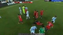 Marcos Rojo Gets Red Card - Argentina vs Chile - Copa America Final - 27/06/2016
