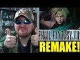 Final Fantasy 7 Remake Gameplay Trailer 2015 - PS4 Final Fantasy VII REACTION!!! (BBT)