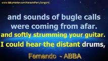 Fernando - ABBA - Karaoke Party Songs HD