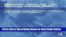 Read Mental Health and Social Problems: A Social Work Perspective  Ebook Free