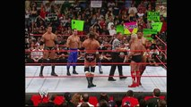 Randy Orton, Chris Benoit & Shelton Benjamin vs. Evolution: Raw, Sept. 20, 2004