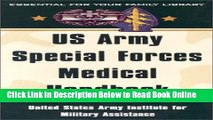 Read US Army Special Forces Medical Handbook: United States Army Institute for Military