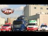 헬로카봇 장난감 펜타스톰 레스큐 에이스 스카이 스와트 프론 경찰차 댄디 구급차 엑시언트 트럭 스톱모션 애니메이션 HelloCarbot2 Transformers StopMotion