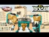 헬로카봇2 장난감 카봇의 스승 포니 마이스터 하늘색 컬러합성 야외 스톱모션 동영상 HelloCarbot2 Transformers StopMotion