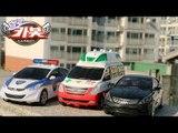 HelloCarbot2 Transformes StopMotion 헬로카봇2 장난감 아반떼 경찰차 프론 구급차 댄디 그랜져 호크 야외 변신로봇 변신자동차 스톱모션 애니메이션