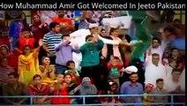Watch How Muhammad Amir Got Welcomed In Jeeto Pakistan