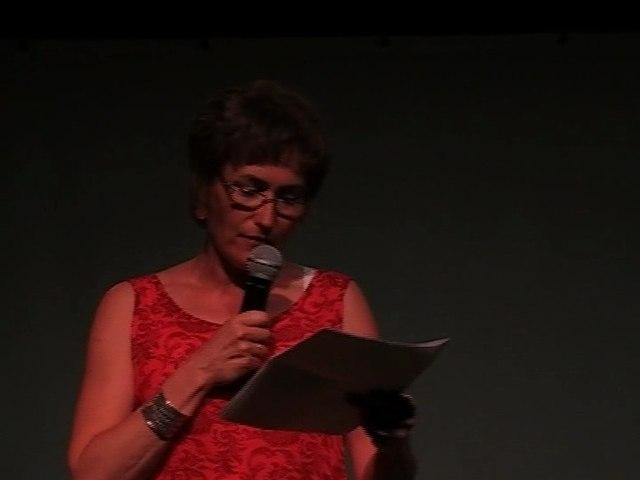 Patricia, présentatrice