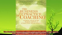 different   The Business and Practice of Coaching Finding Your Niche Making Money  Attracting Ideal