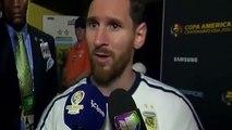 Sensational ! Lionel Messi quits Argentina OMG