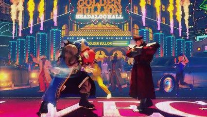 Street Fighter V - Trailer Balrog de Street Fighter V