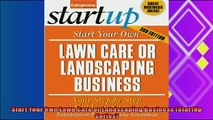 behold  Start Your Own Lawn Care or Landscaping Business StartUp Series
