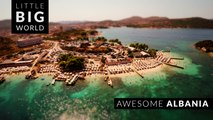 Awesome Albania (4k - Time Lapse - Aerial - Tilt- Shift)