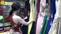 SANDEEPA DHAR OPENING OF THE NEWLY EXTENDED STORE OFGRAND PREETY DESIGN HUT