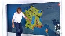 Les problèmes de la Miss Météo ont amusé William Leymergie ce matin sur France 2 - Regardez
