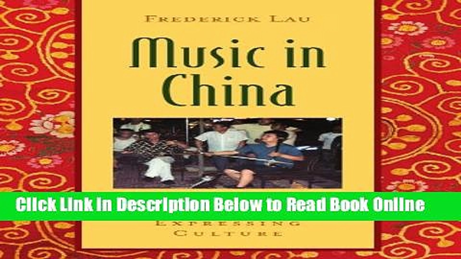 Download Music in China: Experiencing Music, Expressing Culture Includes CD (Global Music Series)