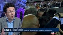 Copa America: Messi annonce sa retraite internationale après sa défaite en finale
