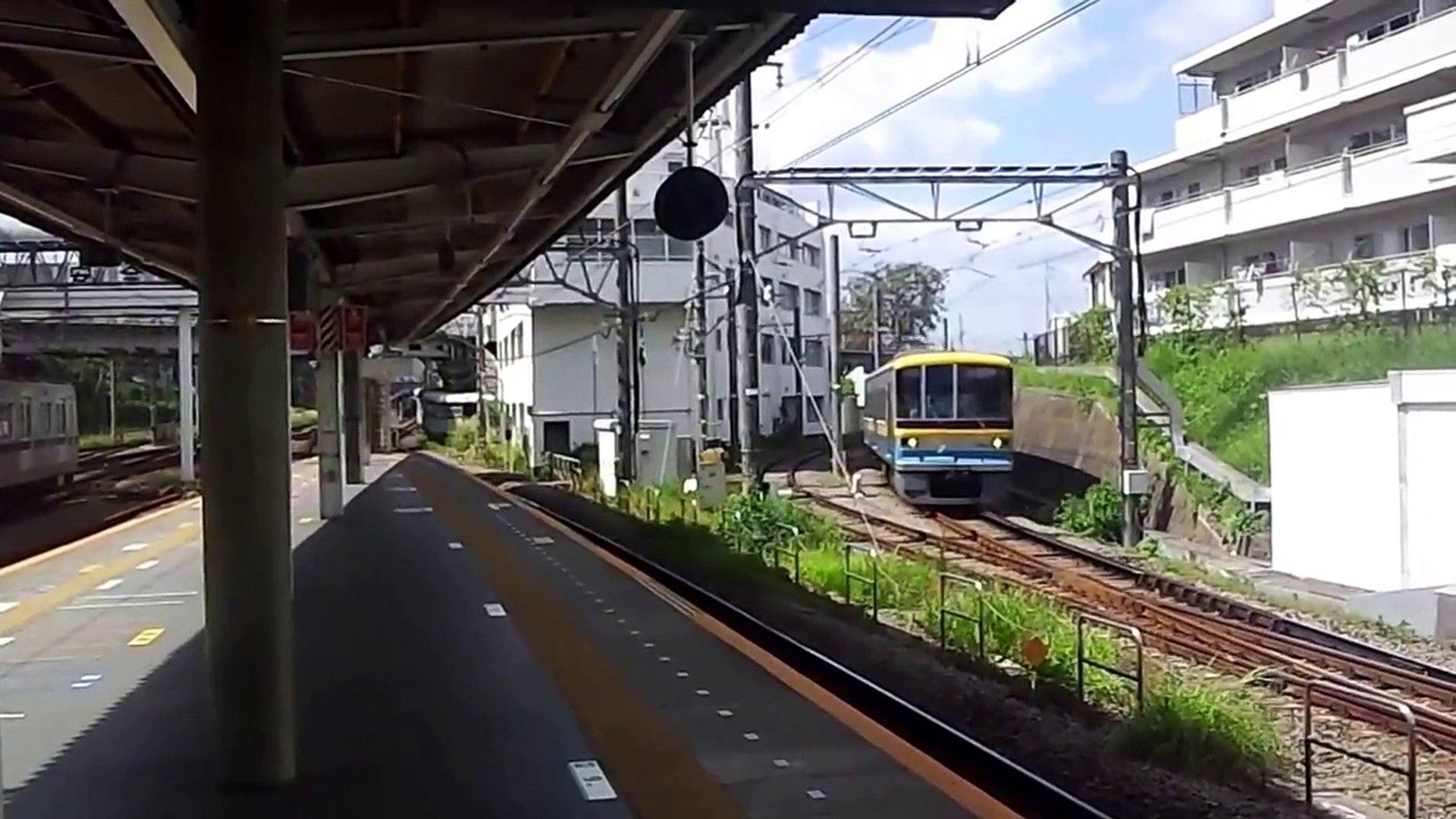 2013/09/29 横浜高速鉄道こどもの国線 Y001+Y002 長津田駅入線