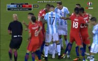 Marcos Rojo Red Card - Argentina vs Chile - Copa America FINAL 26.06.2016