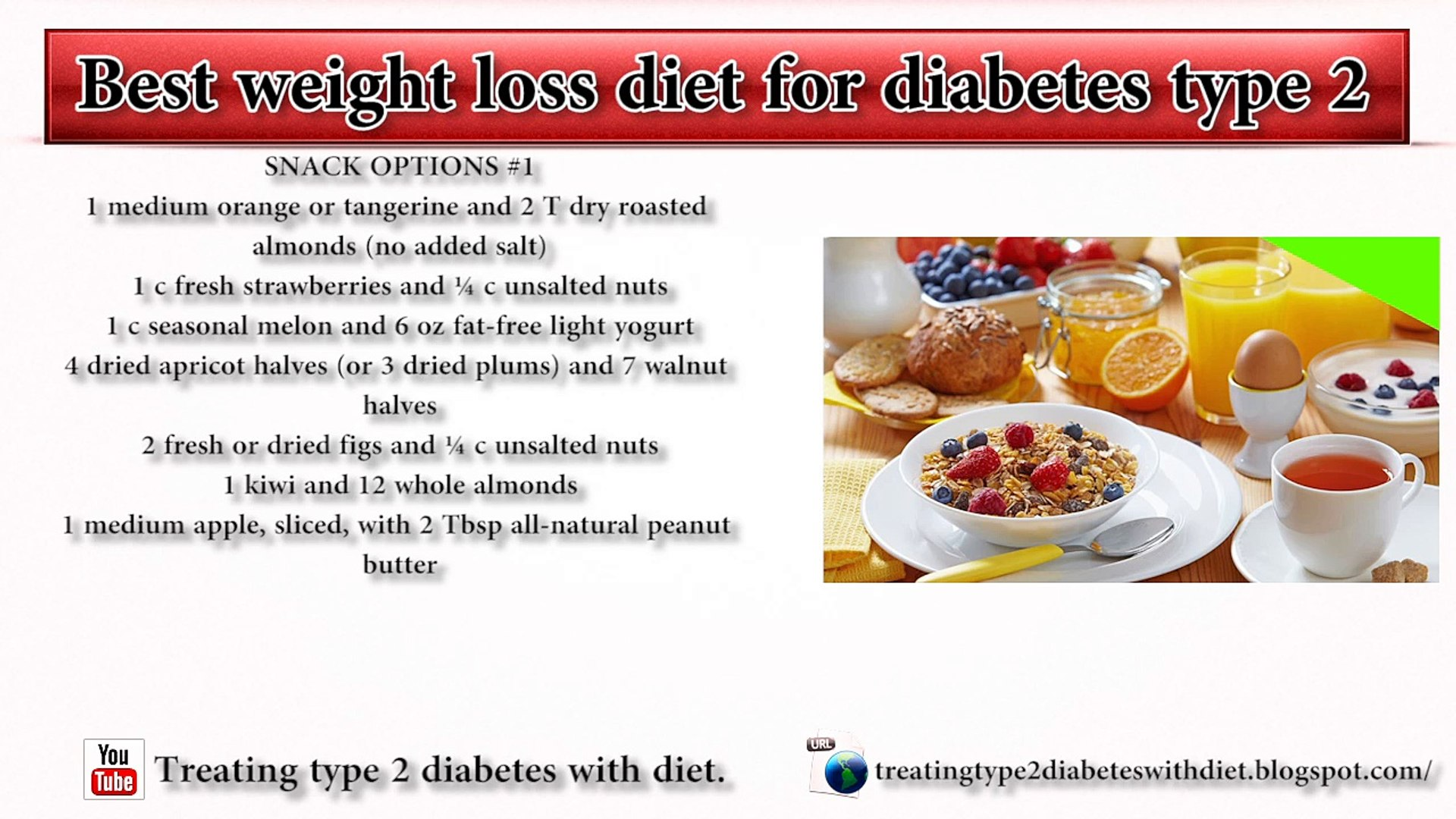 best weight loss diet for diabetes type 2