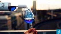 Une start-up espagnole invente le vin bleu, bientôt commercialisé en Europe