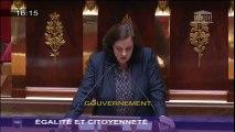 Allocution d'Emmanuelle Cosse lors de la discussion générale sur le projet de loi Egalité et Citoyenneté à l'Assemblée