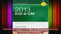 READ book  2013 ICD9CM for Physicians Volumes 1 and 2 Professional Edition 1e AMA ICD9CM for Full Free
