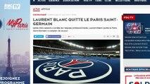 C'est désormais officiel, Laurent Blanc quitte le Paris Saint-Germain