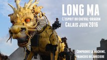 Long Ma, l'Esprit du Cheval-Dragon Calais Juin 2016