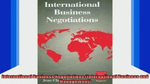 READ book  International Business Negotiations International Business and Management Full Free